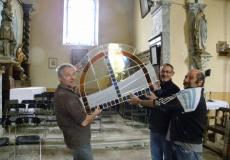 Remplacement des vitraux de l'église